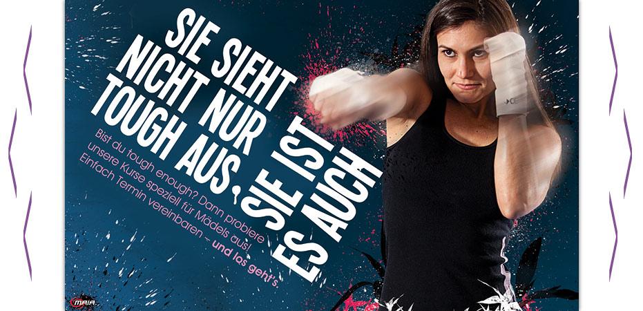 Fitnessboxen-Frauen