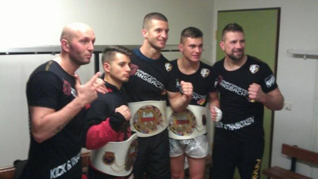 Erneut brillieren die Profis der Kampfsportschule Ansbach (TEAM MEHDI)