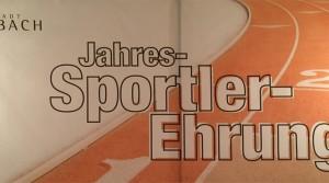 Sportlerehrung der Stadt Ansbach