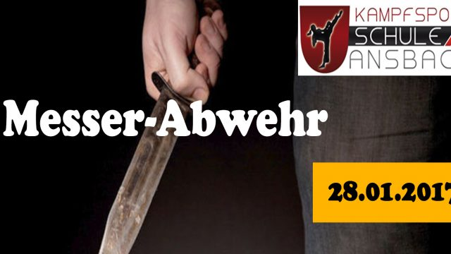 Messer-Abwehr-Seminar am 28.01.2017