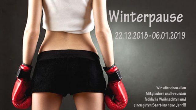 Winterpause 2018